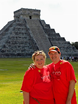 Me and George at Chichen Itza