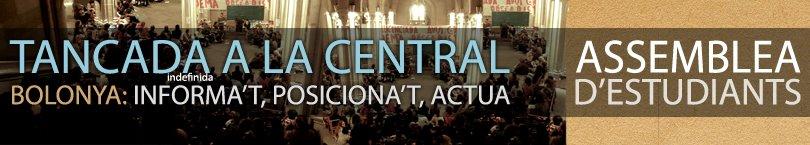 Tancada a la Central