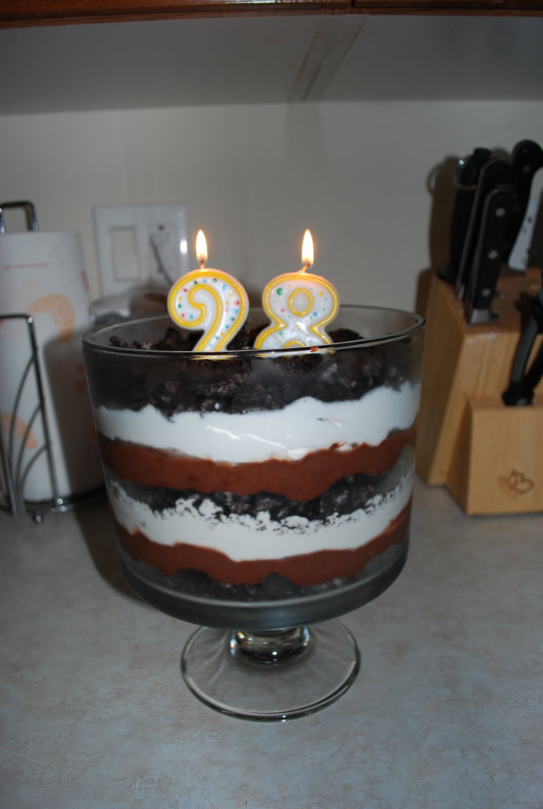 My Husband Requested This For His 28th Birthday Was Actually Low Fat Sugar Version Depending On The Crowd I Make It Regular Or