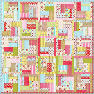 Simple patchwork quilt patterns