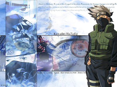 hatake kakashi wallpaper. Naruto - Wallpapers 073