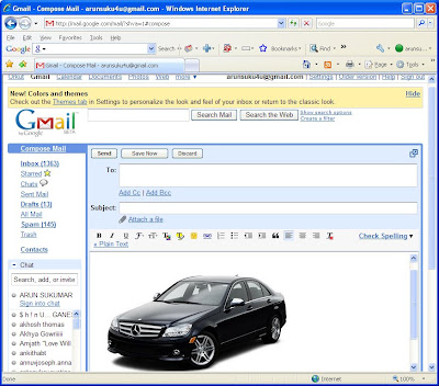 pictre in gmail