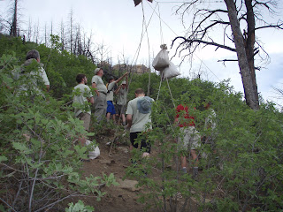 ... trip to Philmont Scout Ranch in Cimarron NM during June. They were gone a little over 2 weeks spent 10 actual days on the trail hiking over 65 miles. & Walking The Tight Rope: Tents and Backpacks Part 1 Philmont