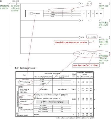 Positioning Module parameters