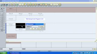 Membuat Tangga PLC Omron PLC Software di