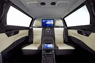 New Mercedes-Benz luxury limousine S-Guard pictures