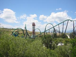 Six Flags Magic Mountain Valencia