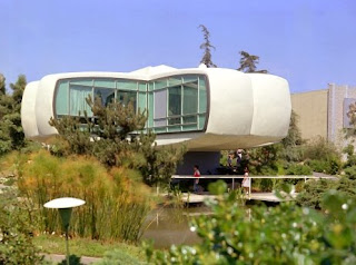 Original house of the future Tomorrowland