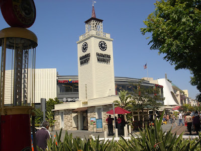 Farmers Market LA Clock Tower