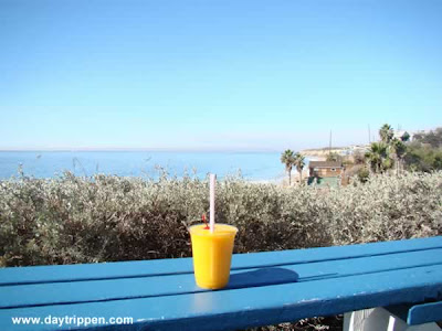 mango smoothie Ruby's Shake Shack Crystal Cove