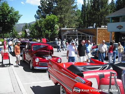 Pine Knot Village Big Bear California Car Show