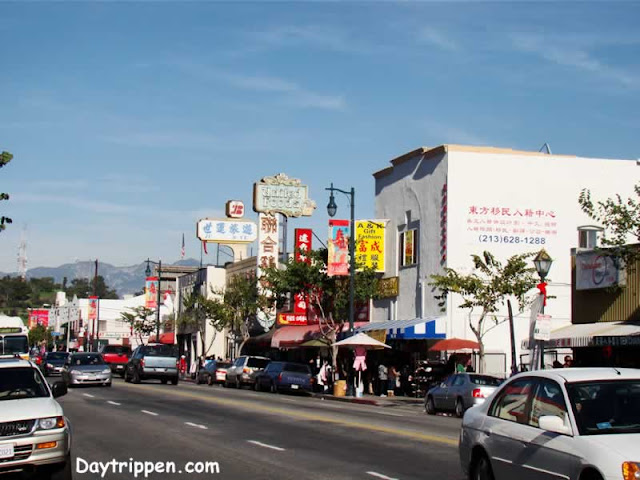 Broadway Street Chinatown Los Angeles