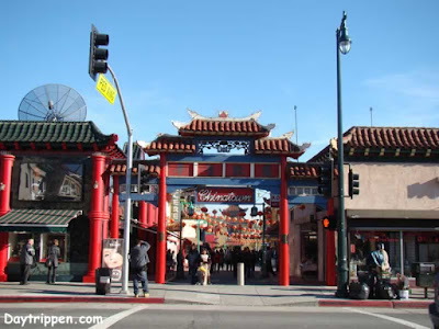 Old China Town Plaza Los Angeles