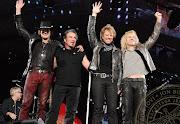Bon Jovi não ficou de fora, e apareceu seis vezes no ranking.