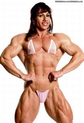 mujeres musculosas, culturistas, desnudas, putas