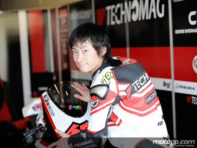 video, accidente, moto gp2,125,2010,japones shoya tomizawa