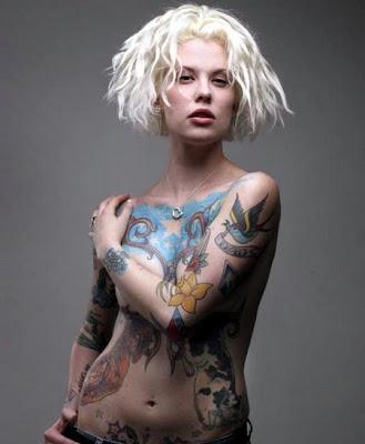 chicas desnudas, chicas tatuadas, sexy y  cachondas