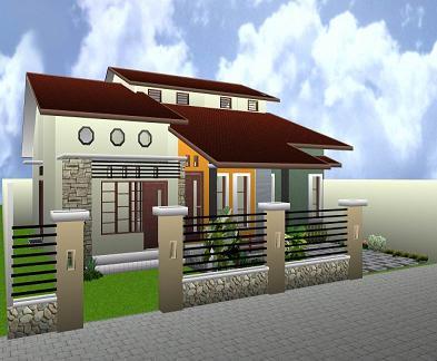 denah rumah sederhana on Rumah minimalis sederhana sangat sangat diminati belakangan ini. Orang ...