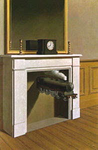 Pintura hablada o greguería pintada de René Magritte