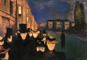 Atardecer en el Paseo Karl Johann (1892) - Edvard Munch (29)