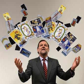 Rajoy y el tarot