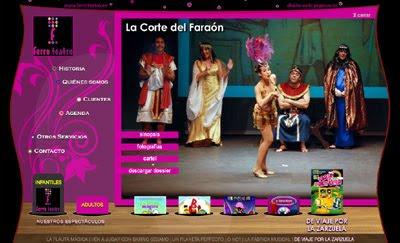 ver web Ferro Teatro