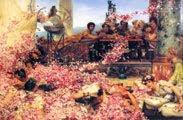 Las rosas de Heliogábalo (1888) - Lawrence Alma-Tadema (52)