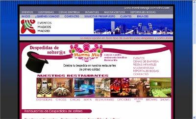 ver web Eventos Mágicos Madrid