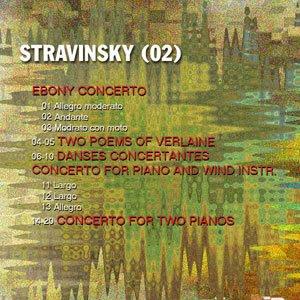 varias piezas musicales de Igor Stravinsky (carátula creada por pepeworks)