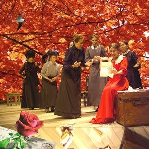 fotomontaje creado por pepeworks para la obra de teatro Doña Rosita la Soltera de Lorca