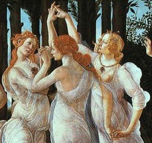 mujeres de Botticelli