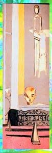 señalador para libros a partir de un cuadro de Matisse, desarrollado por pepeworks