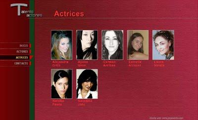 ver web Talento Actores