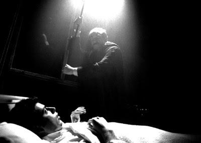José Martín Molina y Aparicio Rivero en el cortometraje 611