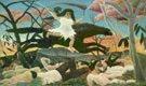 Henri Rousseau (50)- La guerra (1894)