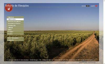 visitar la web de Señorío de Hinojales: Aceites de oliva virgen extra (Badajoz, España)