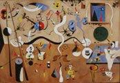 Joan Miró (32) - El carnaval del arlequín (1925)