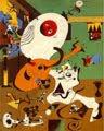 Joan Miró (35) - Interior holandés (1928)