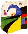 Joan Miró (82) - Maqueta nº 8 bis de serie Gaudí (1975)