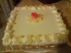 Pineapple Cheese Cake