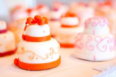 Two Tiered Mini Cakes