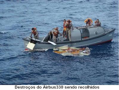 foto do acidente da airbus