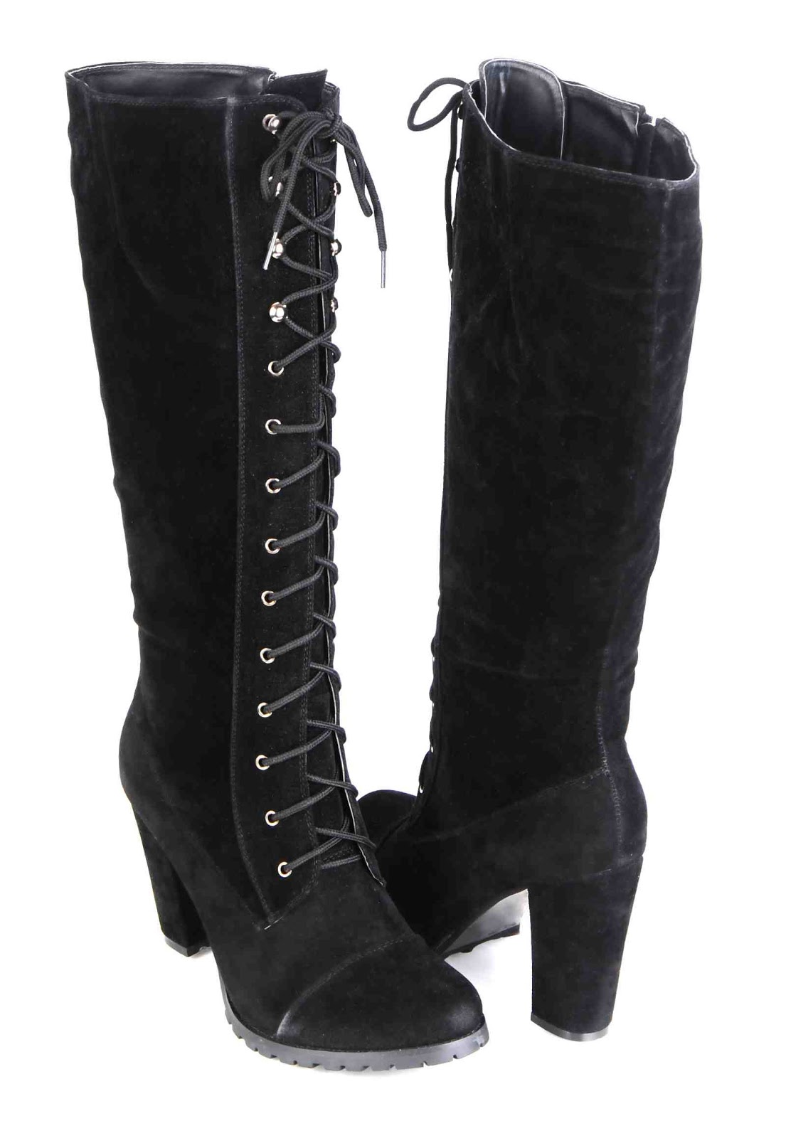 knee high lace up winter boots national sheriffs