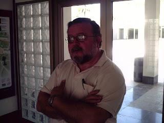 Juan Amorós Soler, Secretario de la Asociación de Vecinos de La Marina. Fuente: elaboración propia