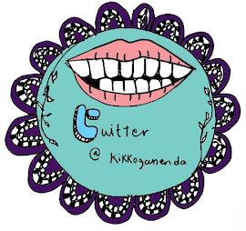 my new twitter id : @KGANENDA