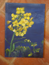 Rape flower - painting to learn colour and shape