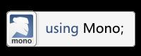 I use Mono