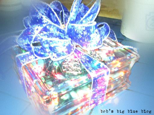 christmas glass block - Christmas Glass Blocks