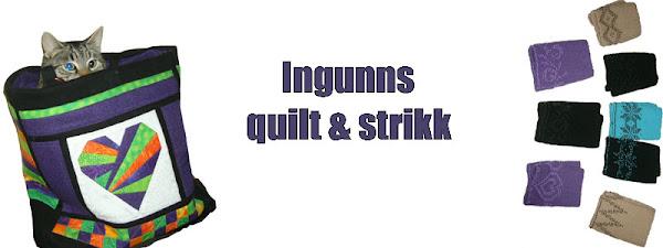 Ingunns quilt og strikk