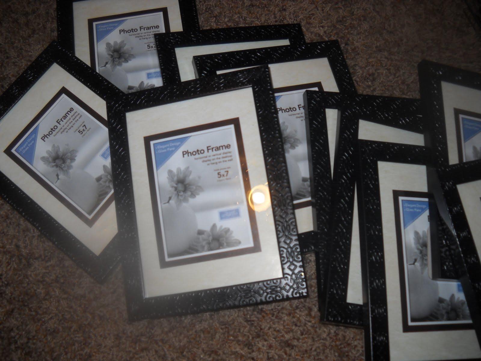 Wedding stuff for sale 2 black flourishdamask picture frames 4x6 10 plus shipping jeuxipadfo Gallery